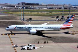 まいけるさんが、羽田空港で撮影したアメリカン航空 787-9の航空フォト(飛行機 写真・画像)
