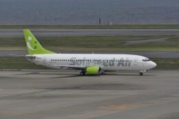 kumagorouさんが、羽田空港で撮影したソラシド エア 737-43Qの航空フォト(飛行機 写真・画像)