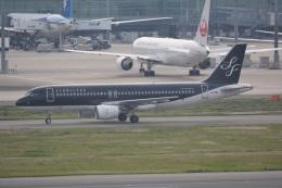 LEGACY-747さんが、羽田空港で撮影したスターフライヤー A320-214の航空フォト(飛行機 写真・画像)