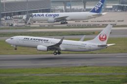 LEGACY-747さんが、羽田空港で撮影したJALエクスプレス 737-846の航空フォト(飛行機 写真・画像)