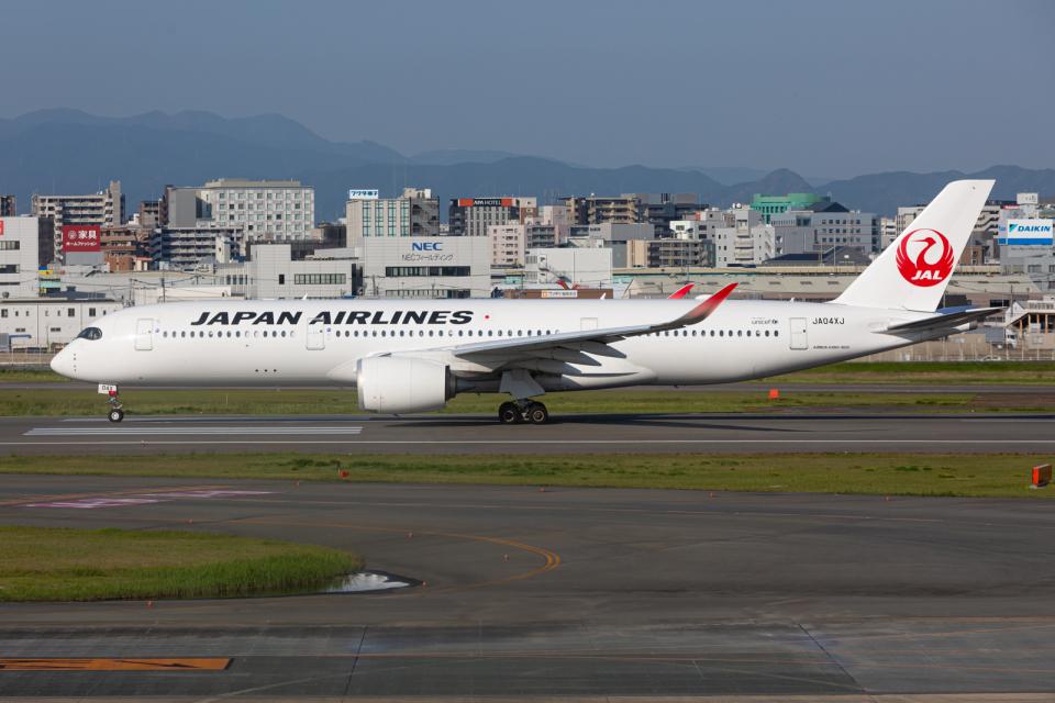 (新)ふぁんとむ改さんの日本航空 Airbus A350-900 (JA04XJ) 航空フォト