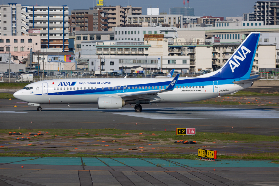 (新)ふぁんとむ改さんの全日空 Boeing 737-800 (JA89AN) 航空フォト