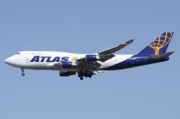 =JAかみんD=さんが、横田基地で撮影したアトラス航空 747-45E(BDSF)の航空フォト(飛行機 写真・画像)