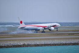 ER_b777logさんが、那覇空港で撮影した航空自衛隊 777-3SB/ERの航空フォト(飛行機 写真・画像)