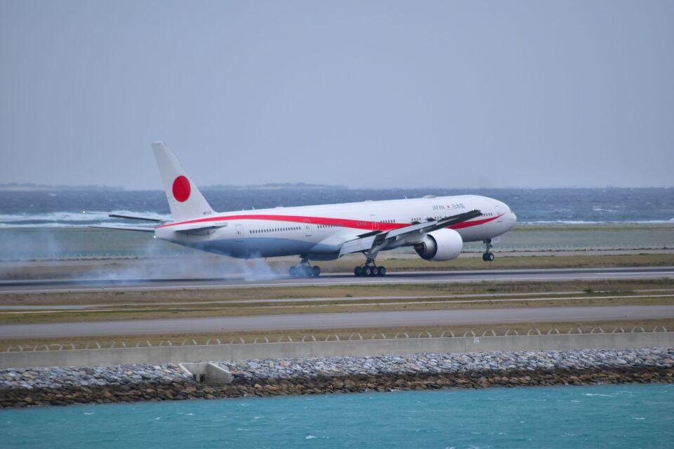 ER_b777logさんの航空自衛隊 Boeing 777-300 (80-1112) 航空フォト