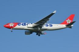 Deepさんが、成田国際空港で撮影したエーデルワイス航空 A330-223の航空フォト(飛行機 写真・画像)