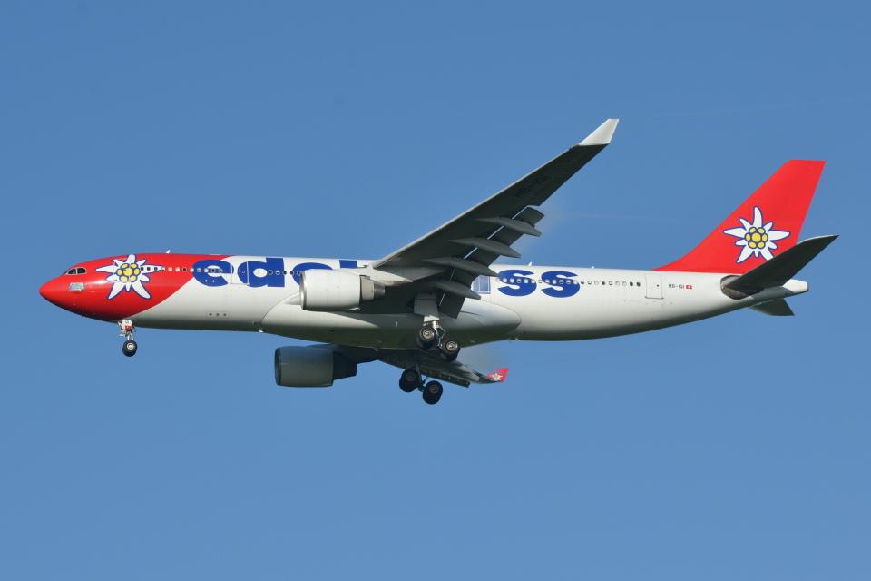 Deepさんのエーデルワイス航空 Airbus A330-200 (HB-IQI) 航空フォト