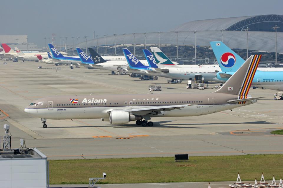 tsubameさんのアシアナ航空 Boeing 767-300 (HL7247) 航空フォト