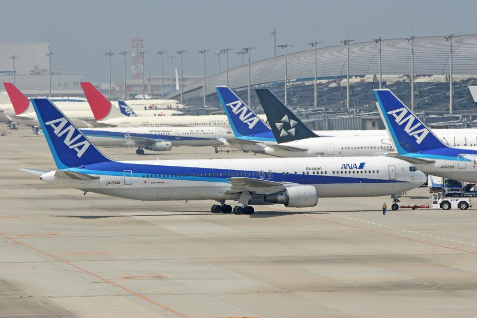 tsubameさんの全日空 Boeing 767-300 (JA604A) 航空フォト