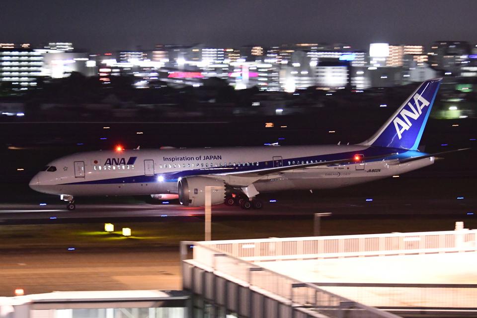 TOPAZ102さんの全日空 Boeing 787-8 Dreamliner (JA802A) 航空フォト
