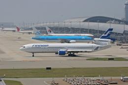 tsubameさんが、関西国際空港で撮影したフィンエアー MD-11の航空フォト(飛行機 写真・画像)
