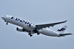 amagoさんが、関西国際空港で撮影したフィンエアー A330-302Xの航空フォト(飛行機 写真・画像)
