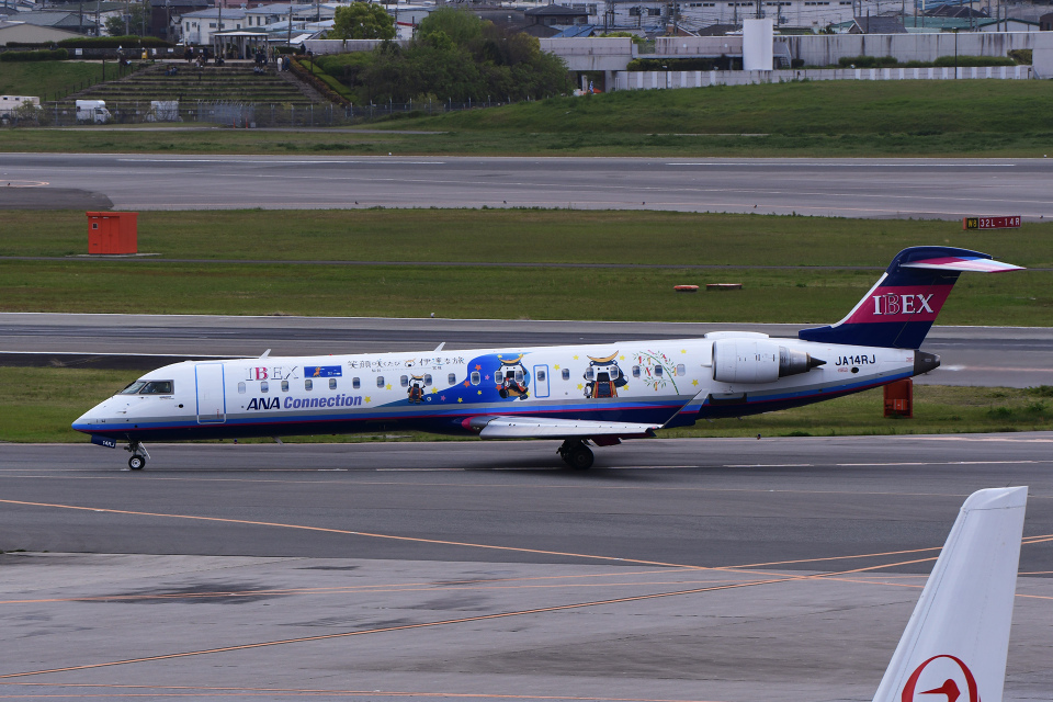 TOPAZ102さんのアイベックスエアラインズ Bombardier CRJ-700 (JA14RJ) 航空フォト