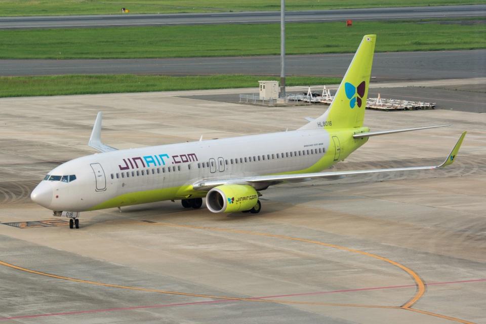 kan787allさんのジンエアー Boeing 737-800 (HL8016) 航空フォト