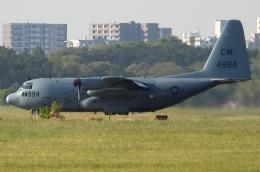 チャレンジャーさんが、厚木飛行場で撮影したアメリカ海軍 C-130T Herculesの航空フォト(飛行機 写真・画像)