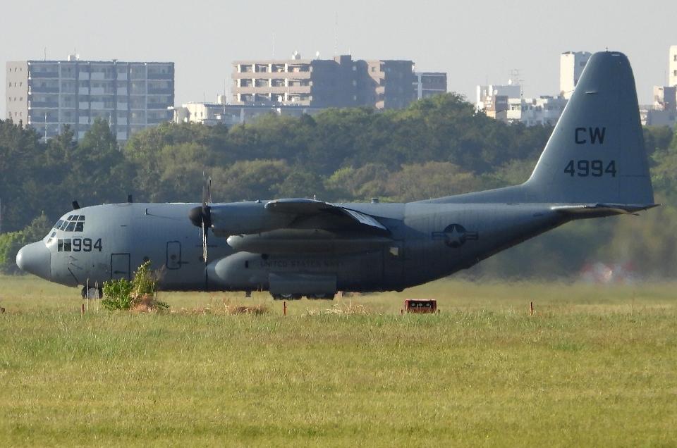チャレンジャーさんのアメリカ海軍 Lockheed C-130 Hercules (164994) 航空フォト
