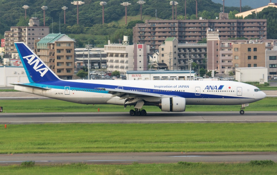 kan787allさんの全日空 Boeing 777-200 (JA707A) 航空フォト