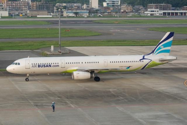 kan787allさんが、福岡空港で撮影したエアプサン A321-231の航空フォト(飛行機 写真・画像)