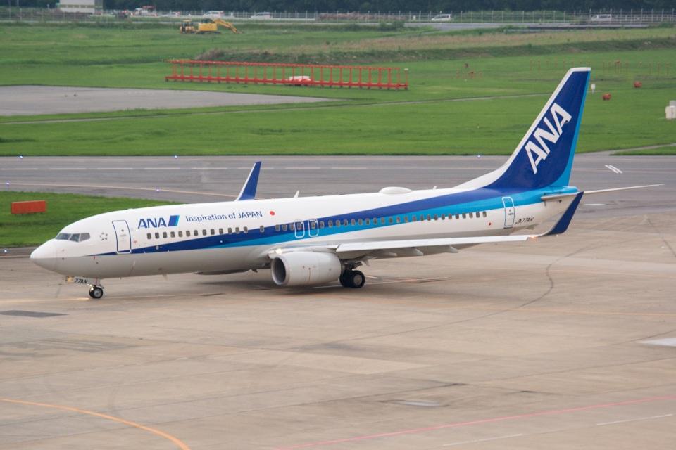 kan787allさんの全日空 Boeing 737-800 (JA77AN) 航空フォト