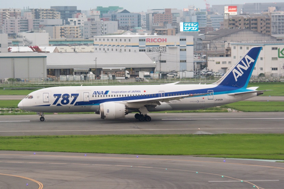 kan787allさんの全日空 Boeing 787-8 Dreamliner (JA810A) 航空フォト
