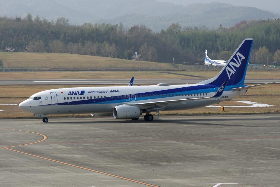 神宮寺ももさんの全日空 Boeing 737-800 (JA87AN) 航空フォト
