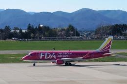 Hiro-hiroさんが、花巻空港で撮影したフジドリームエアラインズ ERJ-170-200 (ERJ-175STD)の航空フォト(飛行機 写真・画像)