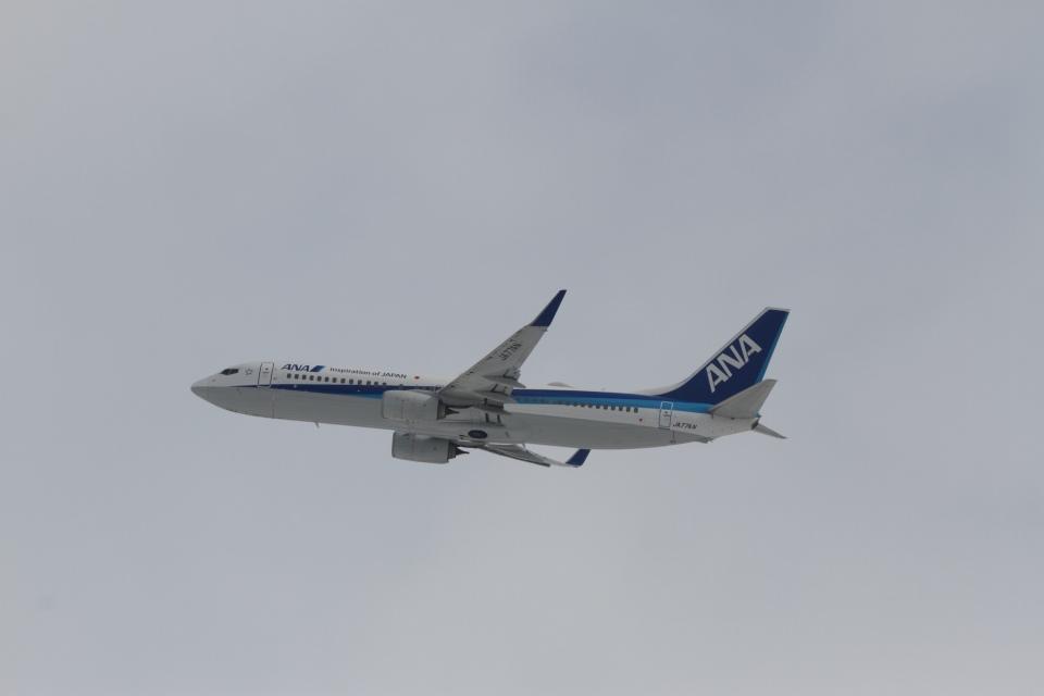 344さんの全日空 Boeing 737-800 (JA77AN) 航空フォト