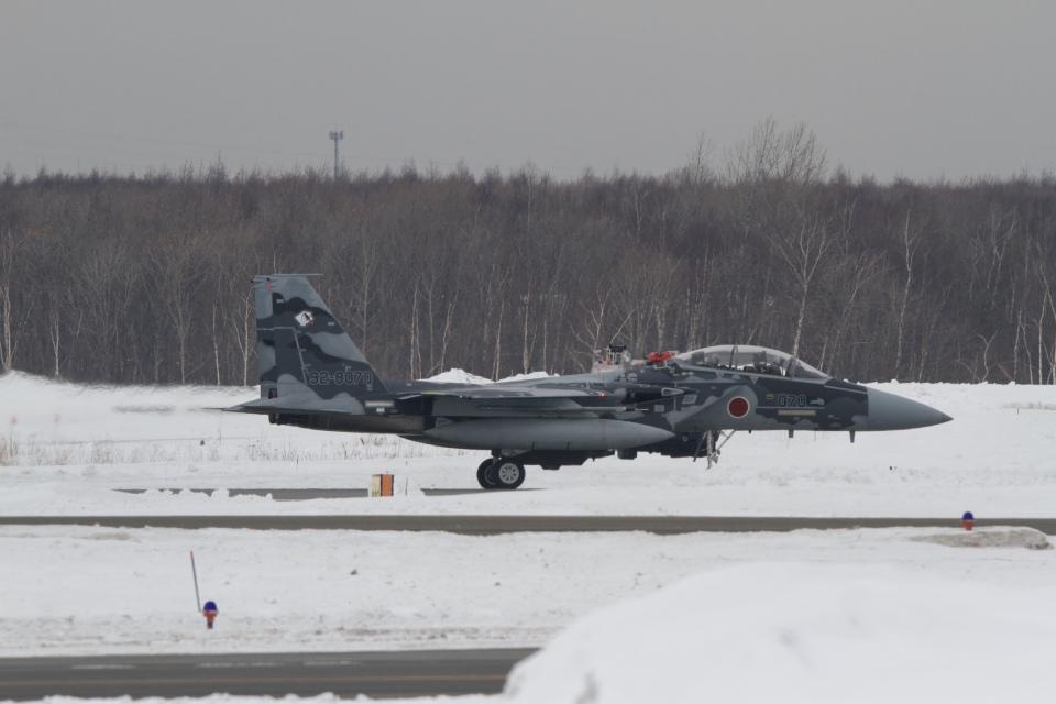344さんの航空自衛隊 Mitsubishi F-15DJ Eagle (92-8070) 航空フォト