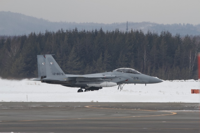 344さんが、新千歳空港で撮影した航空自衛隊 F-15DJ Eagleの航空フォト(飛行機 写真・画像)