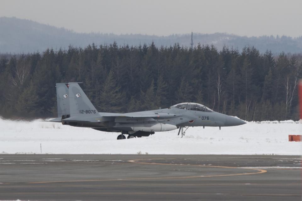 344さんの航空自衛隊 Mitsubishi F-15DJ Eagle (12-8076) 航空フォト