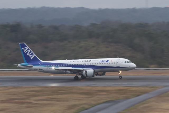 344さんが、石見空港で撮影した全日空 A320-211の航空フォト(飛行機 写真・画像)