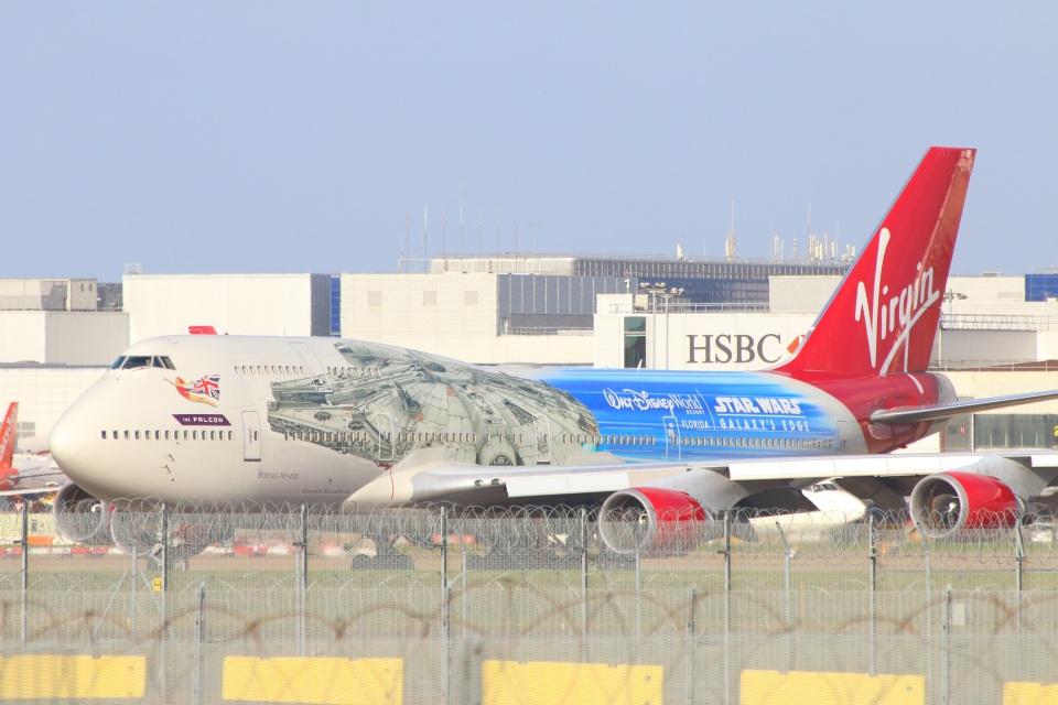 S.Hayashiさんのヴァージン・アトランティック航空 Boeing 747-400 (G-VLIP) 航空フォト