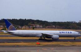 KAZKAZさんが、成田国際空港で撮影したユナイテッド航空 777-322/ERの航空フォト(飛行機 写真・画像)
