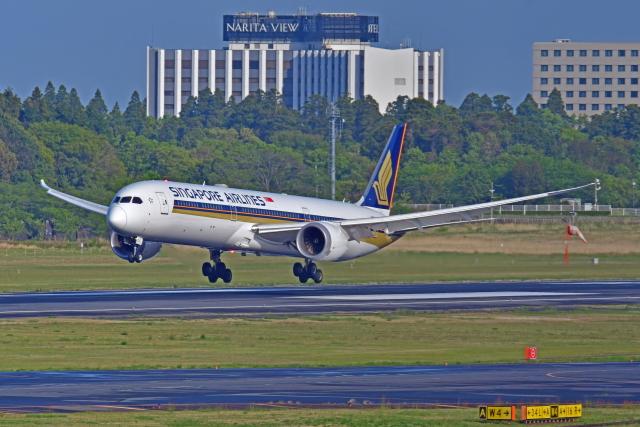 Souma2005さんが、成田国際空港で撮影したシンガポール航空 787-10の航空フォト(飛行機 写真・画像)