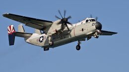 オキシドールさんが、岩国空港で撮影したアメリカ海軍 C-2A Greyhoundの航空フォト(飛行機 写真・画像)
