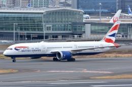 サンドバンクさんが、羽田空港で撮影したブリティッシュ・エアウェイズ 787-9の航空フォト(飛行機 写真・画像)