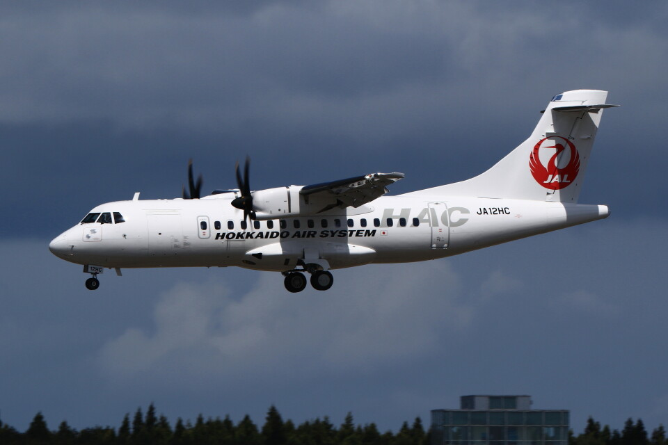 MH-38Rさんの北海道エアシステム ATR 42 (JA12HC) 航空フォト