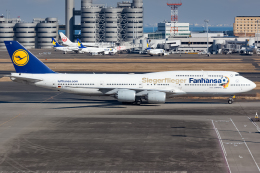 航空フォト:D-ABYI ルフトハンザドイツ航空 747-8