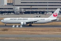 KoshiTomoさんが、羽田空港で撮影した日本航空 767-346/ERの航空フォト(飛行機 写真・画像)