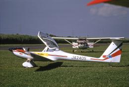 JAパイロットさんが、大利根飛行場で撮影した日本個人所有 H-36 Dimonaの航空フォト(飛行機 写真・画像)