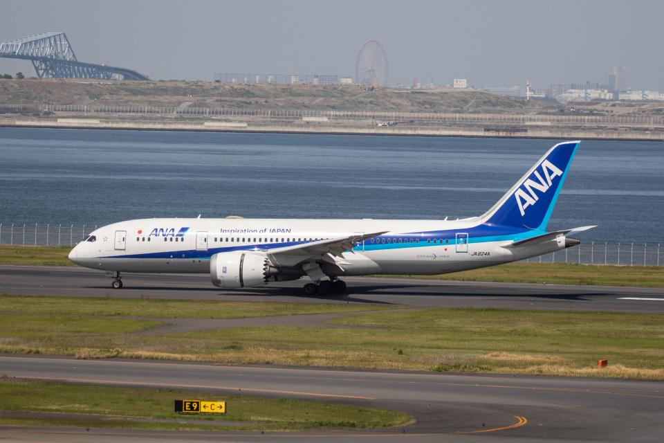 どりーむらいなーさんの全日空 Boeing 787-8 Dreamliner (JA824A) 航空フォト