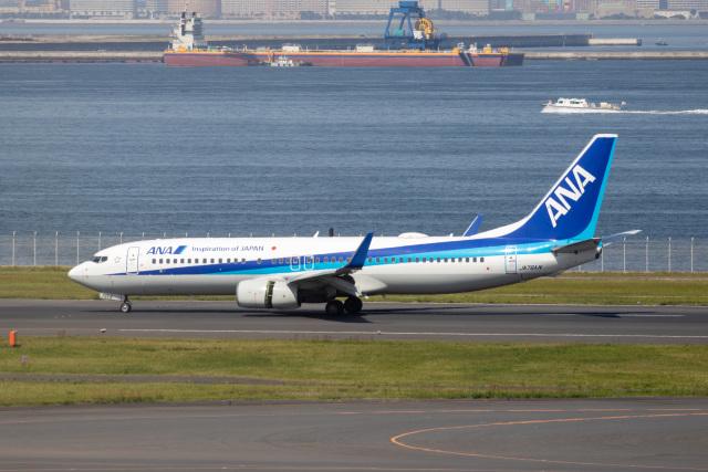 どりーむらいなーさんが、羽田空港で撮影した全日空 737-881の航空フォト(飛行機 写真・画像)