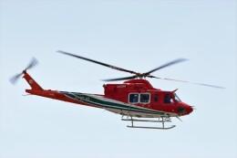 ハム太郎。さんが、松本空港で撮影した長野県消防防災航空隊 412EPIの航空フォト(飛行機 写真・画像)