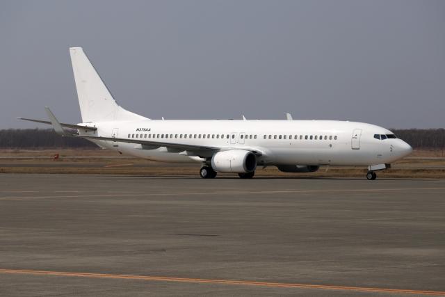 北の熊さんが、新千歳空港で撮影したBANK OF UTAH TRUSTEE 737-8HOの航空フォト(飛行機 写真・画像)