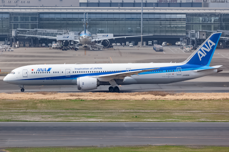 KoshiTomoさんの全日空 Boeing 787-9 (JA880A) 航空フォト