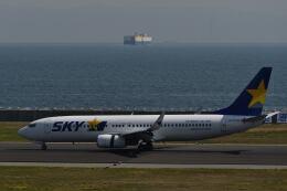 天心さんが、神戸空港で撮影したスカイマーク 737-8FZの航空フォト(飛行機 写真・画像)