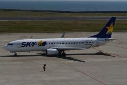 天心さんが、神戸空港で撮影したスカイマーク 737-82Yの航空フォト(飛行機 写真・画像)