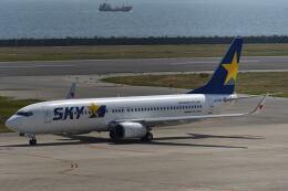 天心さんが、神戸空港で撮影したスカイマーク 737-86Nの航空フォト(飛行機 写真・画像)