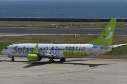 天心さんが、神戸空港で撮影したソラシド エア 737-86Nの航空フォト(飛行機 写真・画像)