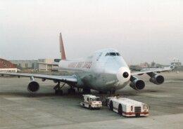 なかすぃ~さんが、伊丹空港で撮影したノースウエスト航空 747-251F/SCDの航空フォト(飛行機 写真・画像)